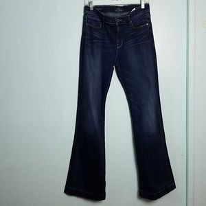 Lucky Brand Brooke Flare Candiani Denim Jean's